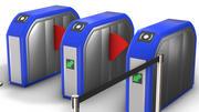 Барьер контроля доступа 3d model