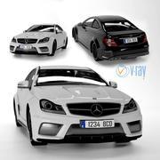 Mercedes C63 3d model