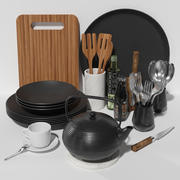 set de cuisine # 3 3d model