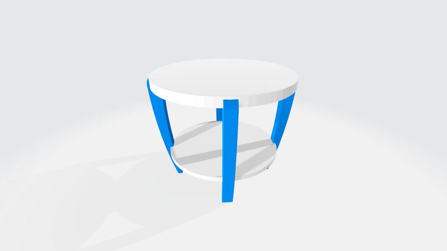 cadeira de criança royalty-free 3d model - Preview no. 4