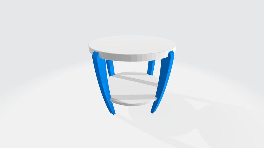 cadeira de criança royalty-free 3d model - Preview no. 2