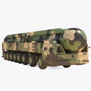 ICBM Launch Vehicle Dusty 3d model
