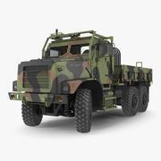 Medium Tactical Vehicle 6x6 Rigged 3d model