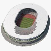Novo Estádio Olímpico Nacional de Tóquio 3d model