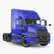 Semi Truck Mack Anthem Rigged 3d model
