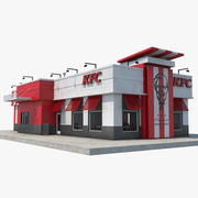 KFC Restoranı 3d model