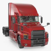 Semi-camion générique 3d model