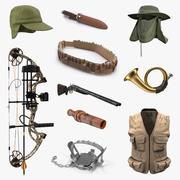 狩猎装备收藏6 3d model