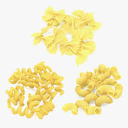 Italian Pasta Collection 3d model