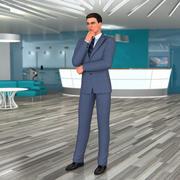 Maya için İş Adamı 3d model
