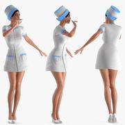 Krankenschwester für Maya manipuliert 3d model