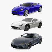Sport Cars Collectie 3d model