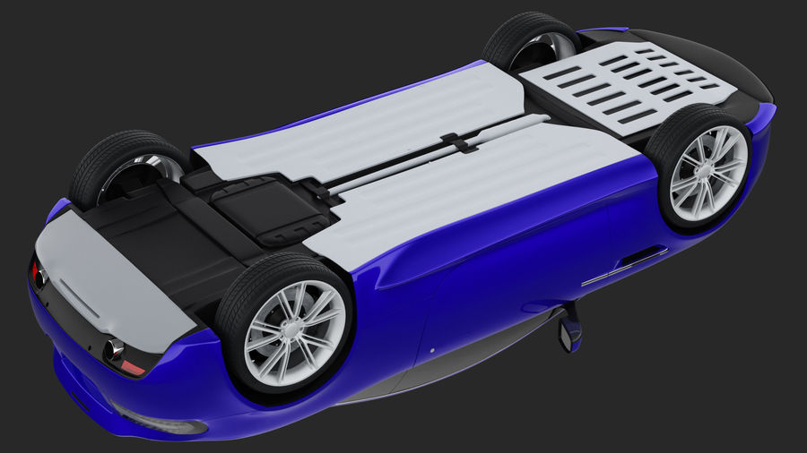 Luxury Cars Collection royalty-free 3d model - Preview no. 24