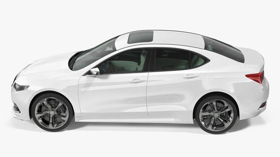 Sport Sedan Generic royalty-free 3d model - Preview no. 7