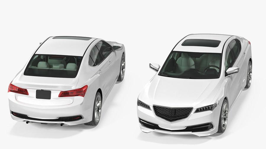 Sport Sedan Generic royalty-free 3d model - Preview no. 6