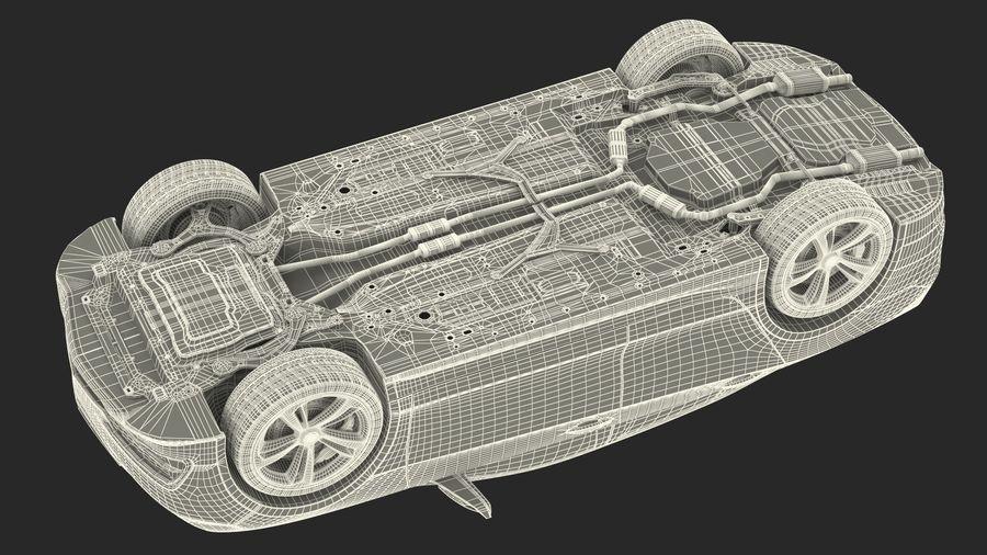 Sport Sedan Generic royalty-free 3d model - Preview no. 38