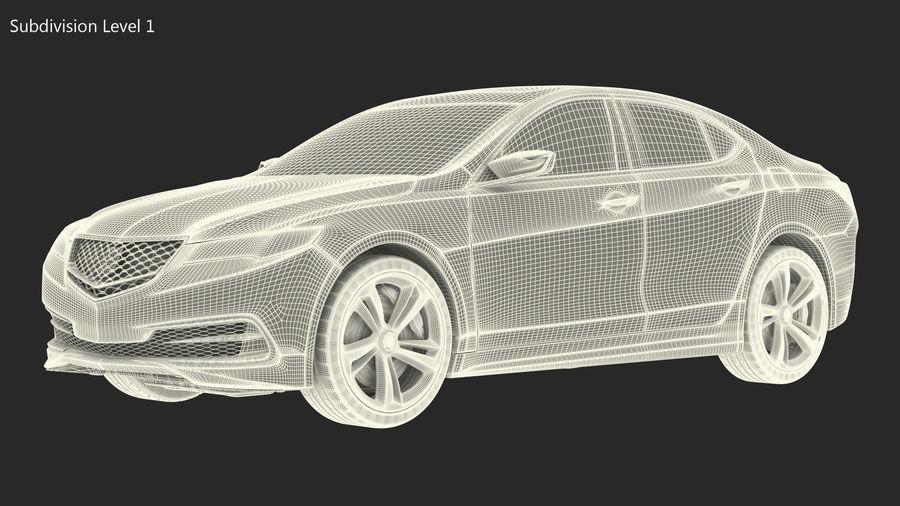 Sport Sedan Generic royalty-free 3d model - Preview no. 22