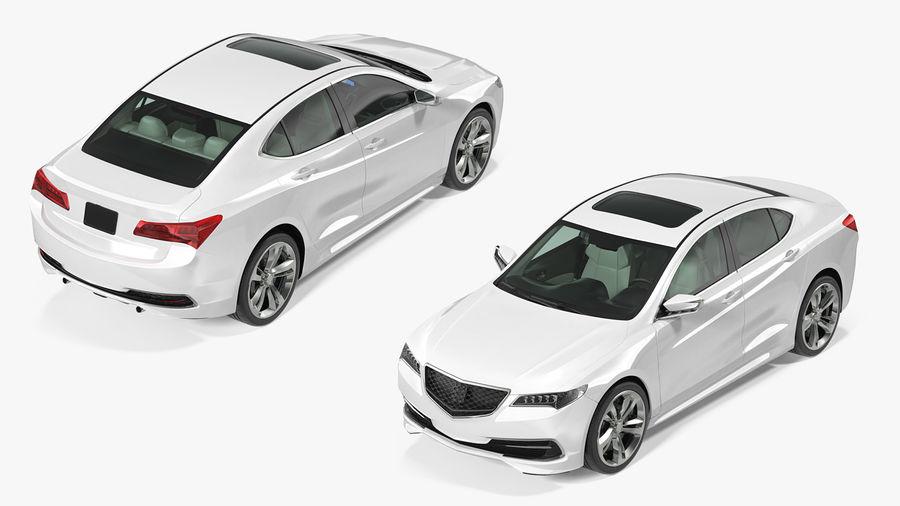 Sport Sedan Generic royalty-free 3d model - Preview no. 20