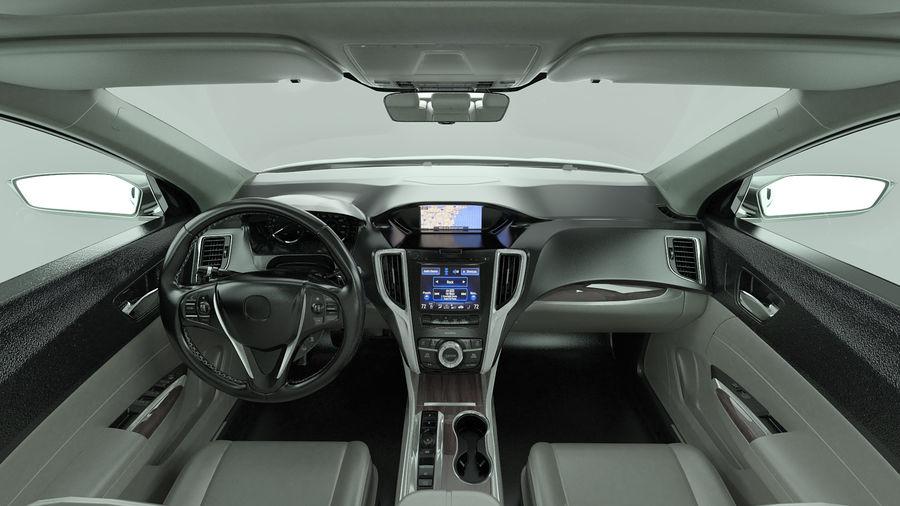 Sport Sedan Generic royalty-free 3d model - Preview no. 9