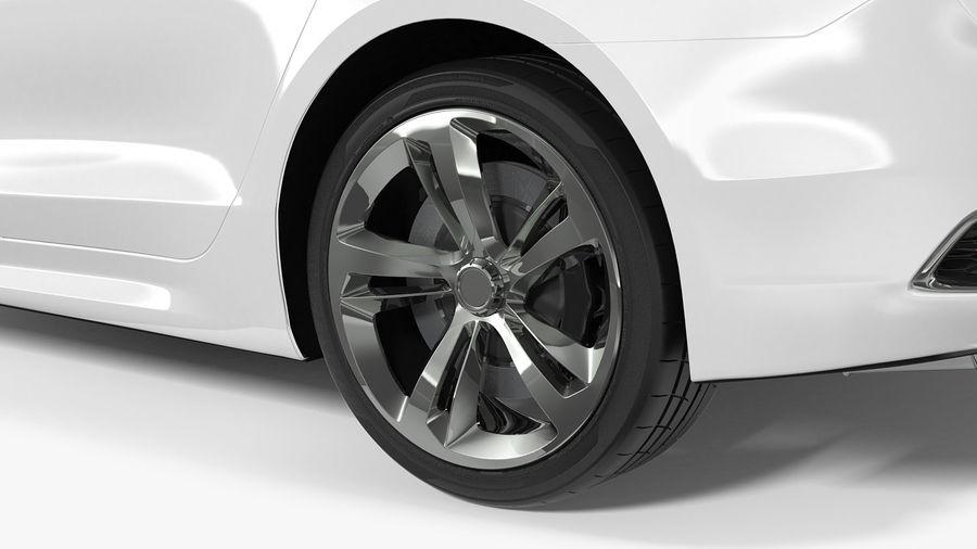 Sport Sedan Generic royalty-free 3d model - Preview no. 13