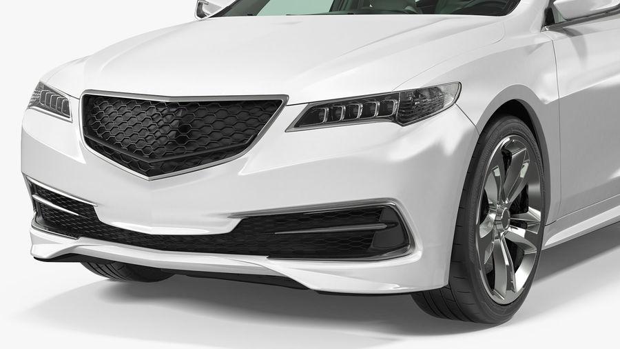 Sport Sedan Generic royalty-free 3d model - Preview no. 12
