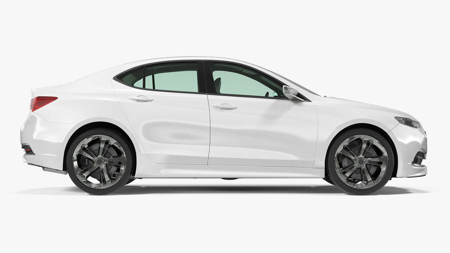 Sport Sedan Generic royalty-free 3d model - Preview no. 19