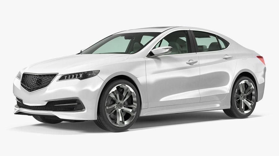Sport Sedan Generic royalty-free 3d model - Preview no. 2