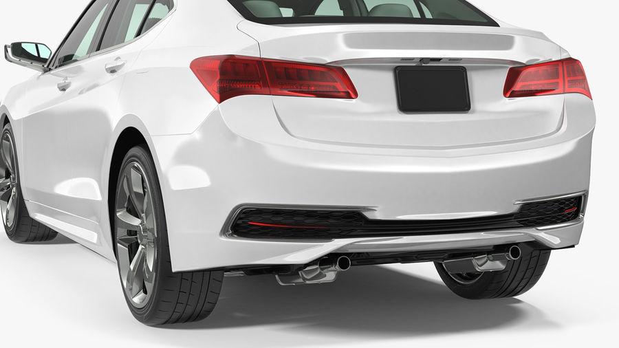 Sport Sedan Generic royalty-free 3d model - Preview no. 14