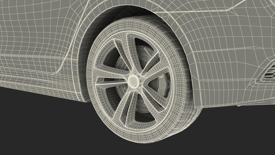 Sport Sedan Generic royalty-free 3d model - Preview no. 34
