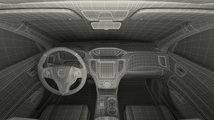 Sport Sedan Generic royalty-free 3d model - Preview no. 33