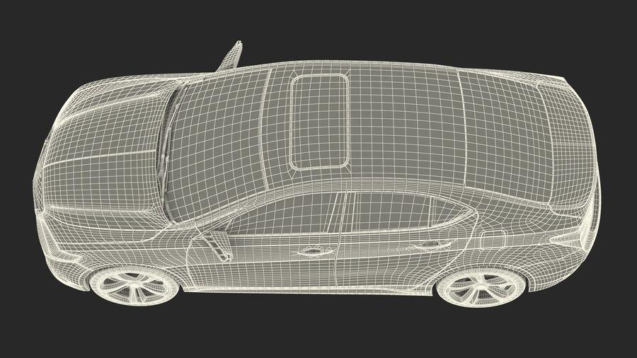 Sport Sedan Generic royalty-free 3d model - Preview no. 29