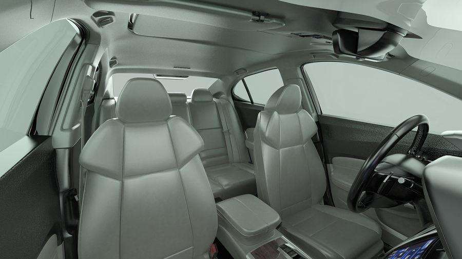 Sport Sedan Generic royalty-free 3d model - Preview no. 10
