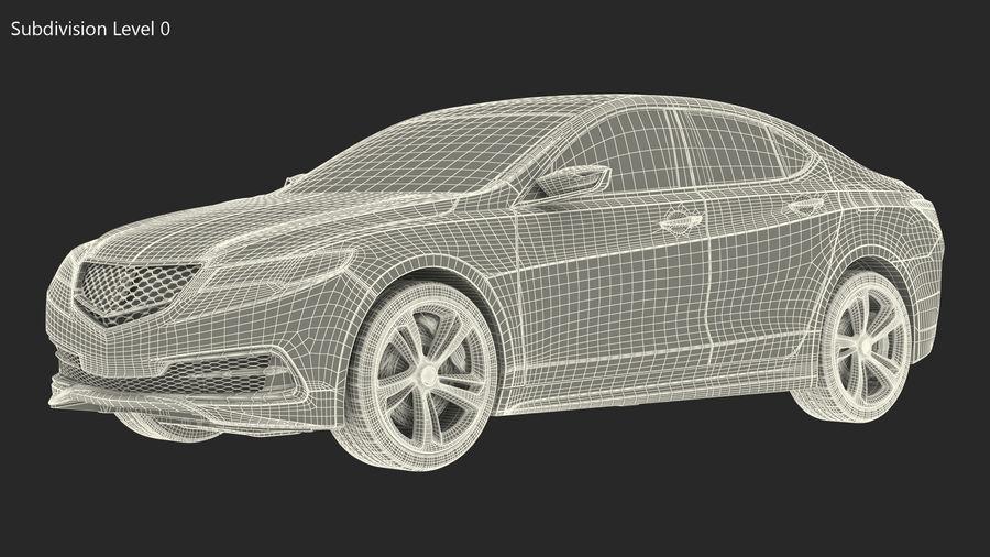 Sport Sedan Generic royalty-free 3d model - Preview no. 21
