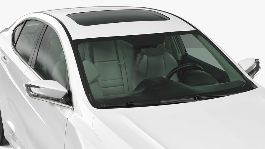 Sport Sedan Generic royalty-free 3d model - Preview no. 8