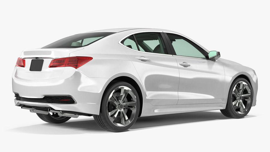 Sport Sedan Generic royalty-free 3d model - Preview no. 3