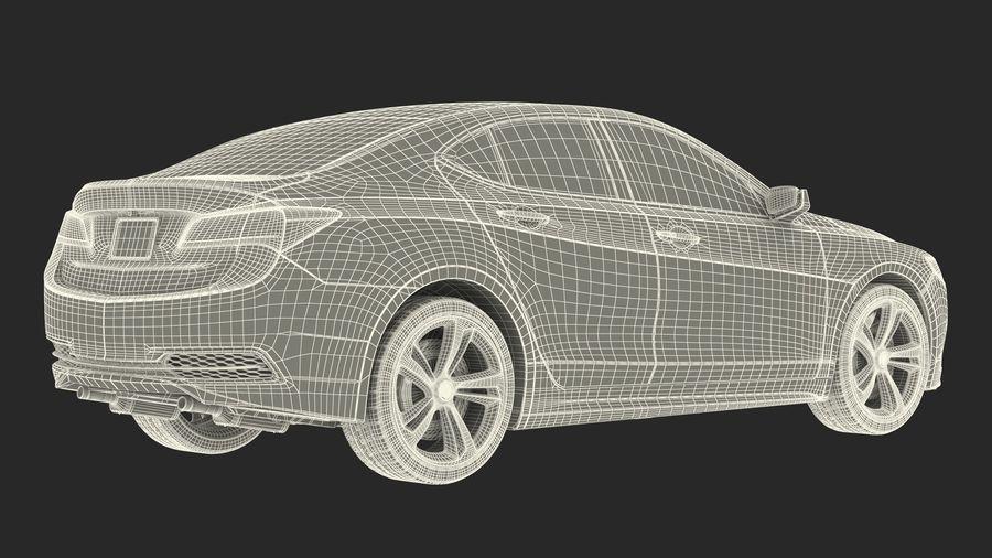 Sport Sedan Generic royalty-free 3d model - Preview no. 28