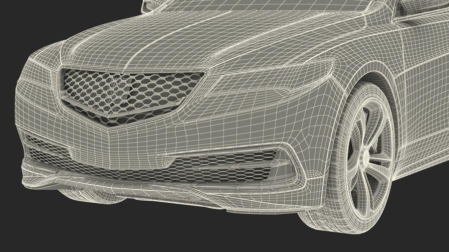 Sport Sedan Generic royalty-free 3d model - Preview no. 30