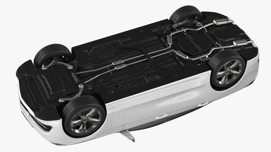 Sport Sedan Generic royalty-free 3d model - Preview no. 15