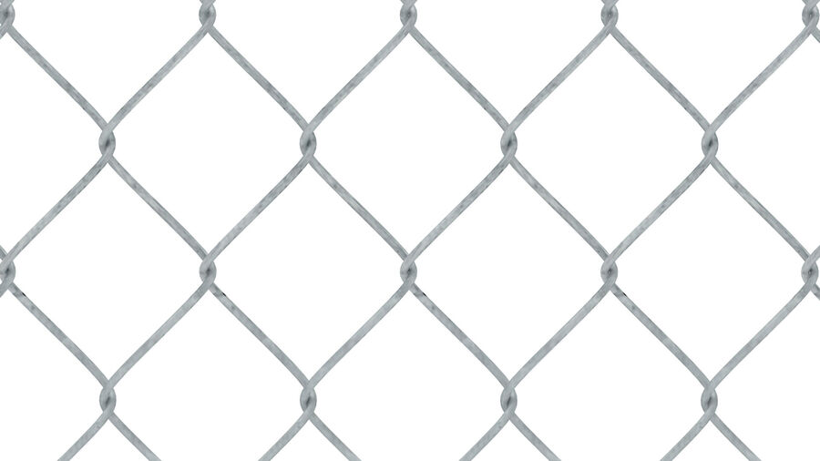 Fences Gate Door royalty-free 3d model - Preview no. 71