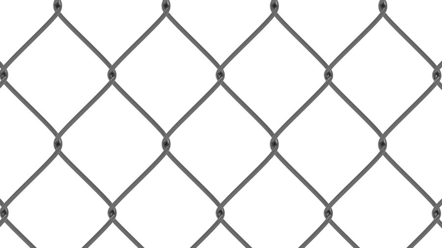 Fences Gate Door royalty-free 3d model - Preview no. 12