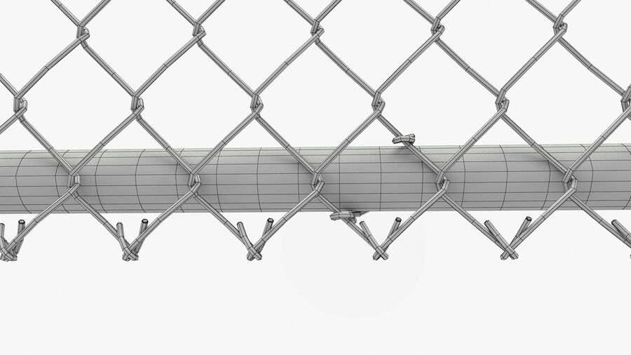 Fences Gate Door royalty-free 3d model - Preview no. 79
