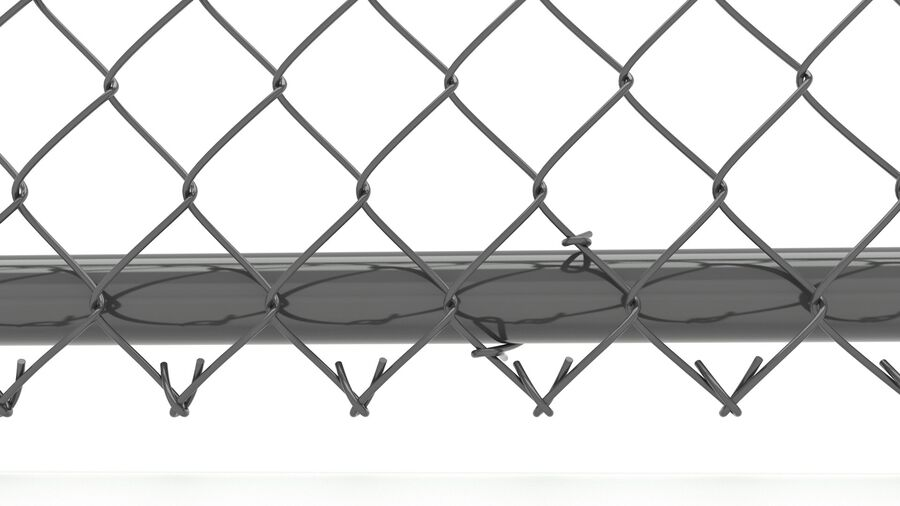 Fences Gate Door royalty-free 3d model - Preview no. 9