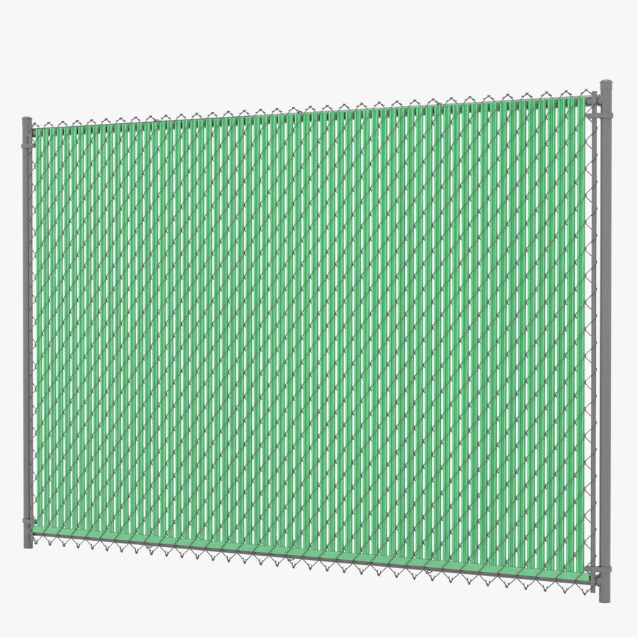 Fences Gate Door royalty-free 3d model - Preview no. 21