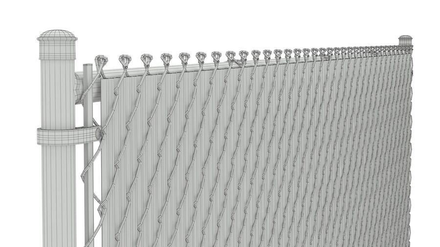 Fences Gate Door royalty-free 3d model - Preview no. 41