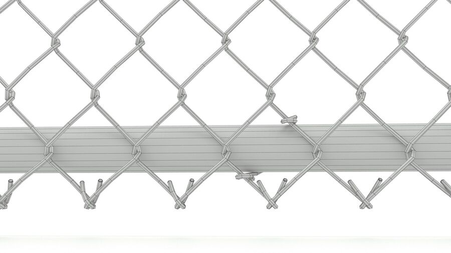 Fences Gate Door royalty-free 3d model - Preview no. 19