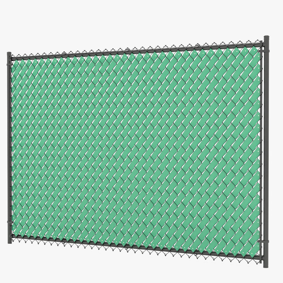Fences Gate Door royalty-free 3d model - Preview no. 44