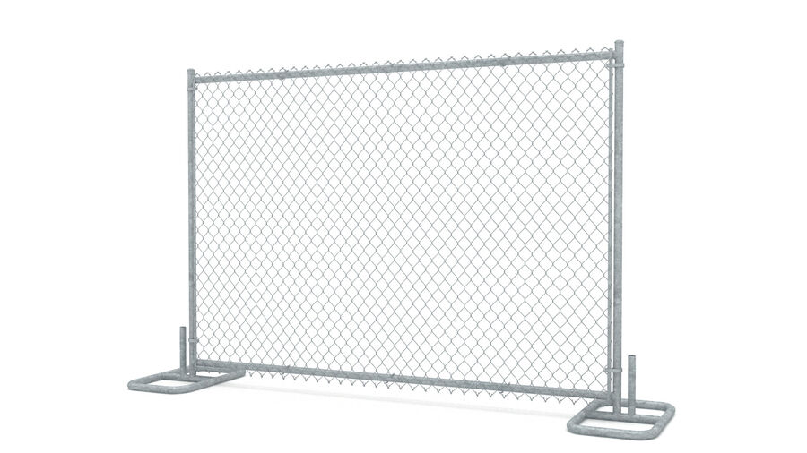 Fences Gate Door royalty-free 3d model - Preview no. 67