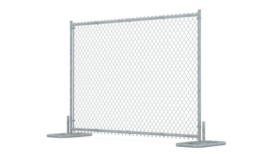 Fences Gate Door royalty-free 3d model - Preview no. 65