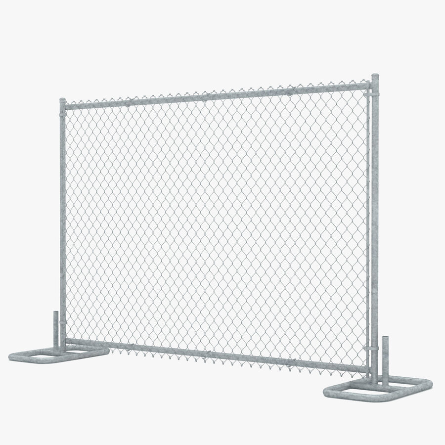 Fences Gate Door royalty-free 3d model - Preview no. 62