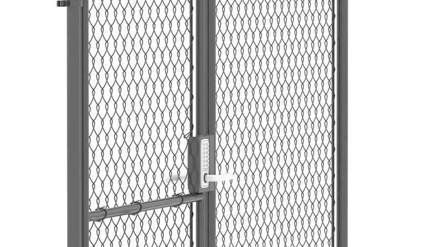 Fences Gate Door royalty-free 3d model - Preview no. 111